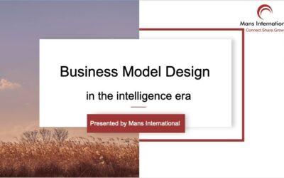 Business model design in the intelligence era