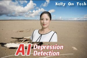 Artificial Intelligence depression detection KellyOnTech