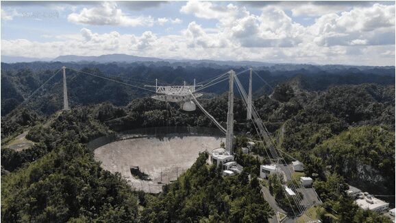 Overlook Arecibo Radio Telescope_Mans International