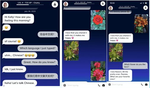 Replika APP Demo - Conversations