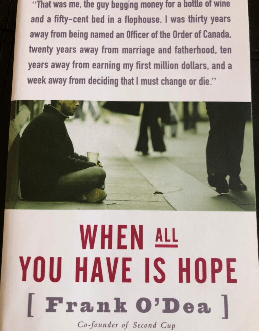 Bookcover When all you have is hope_KellyOnBooks