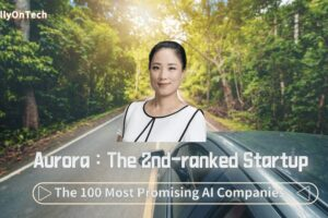 KellyOnTech Aurora the 2nd ranked startup