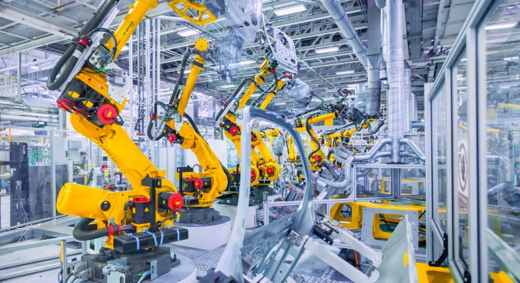 Industrial robots in Japan